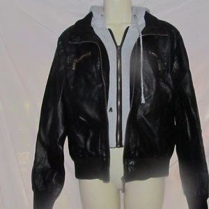 Hot Topic Black Hooded Jacket Women's Size XL